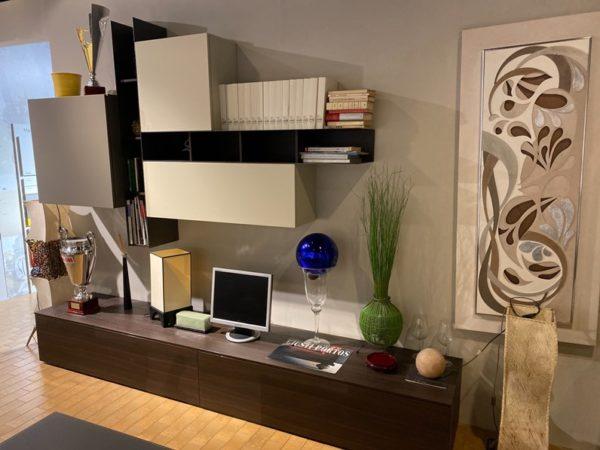 Soggiorno completo Vertix di Tomasella in stile moderno