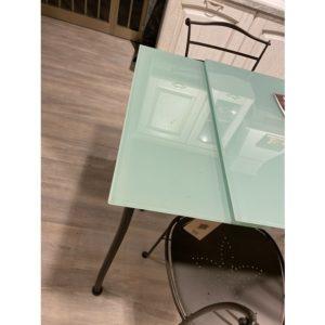 Tavolo in vetro rettangolare Kant Cantori
